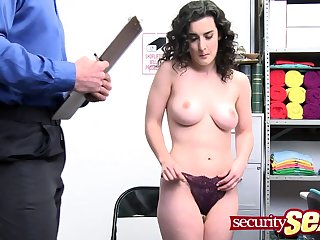 Teen thief loves getting fucked