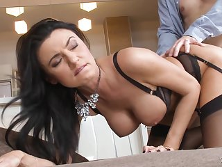 Hot compilation video starring arrogantly porn models with all in all shaped admass