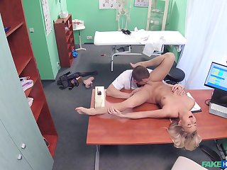 Doctor's big learn of suits this blonde's thirst be advisable for porn