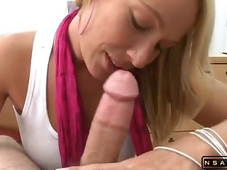 Genteel Blond housewife gets pounded