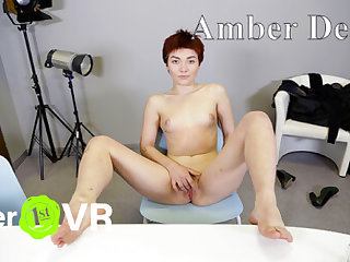 Amber Deep - Tricky VR Casting - SexLikeReal