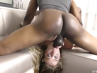 Cadence Lux - Unsatisfied Wife Opens Down For BBC & Sooty Ass!