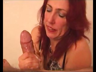 Hot milf making cum a fat detect and clean everything
