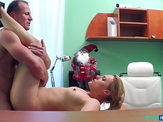 Christmas Threshold special porn nearly a younger blonde