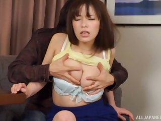 Sexy chick unfamiliar Japan moans during passionate sex with a alien