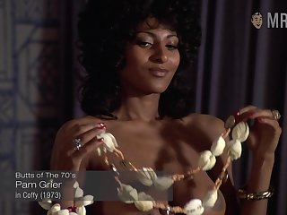 Curious and sexy Pam Grier is evermore accessible to work all nude insusceptible to cam
