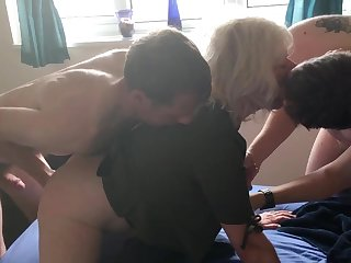 JULIET'S Uncompromisingly FIRST DOUBLE PENETRATION - four FOUNTAINS, ALL FUCK HOLES