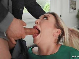 Carnal knowledge Therapy of FaceFuck amp  Hard Ass by BRAZZERS