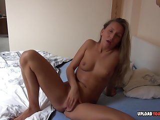 Tanned Babe Pleasures Herself In The Hotel Room