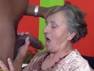80 duration aged grandmother very first multiracial